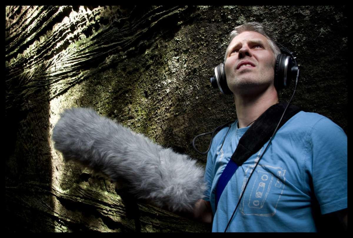 Afbeelding van Sound Recording & Boom Operating © Annemie Van Roey