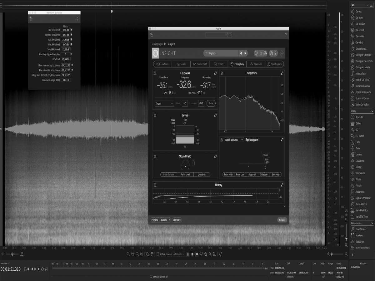 Afbeelding van Resumé of Audio Post Production